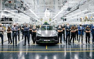 Sărbătoare la Lamborghini: italienii au asamblat exemplarul Urus cu numărul 15.000