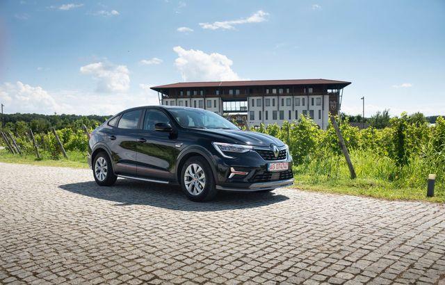 Test drive Renault Arkana