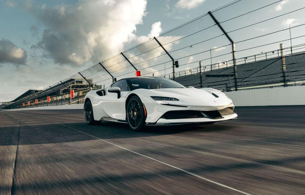 Ferrari SF90 Stradale a stabilit un nou record pe circuitul de la Indianapolis - Poza 1