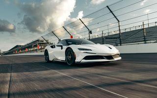 Ferrari SF90 Stradale a stabilit un nou record pe circuitul de la Indianapolis