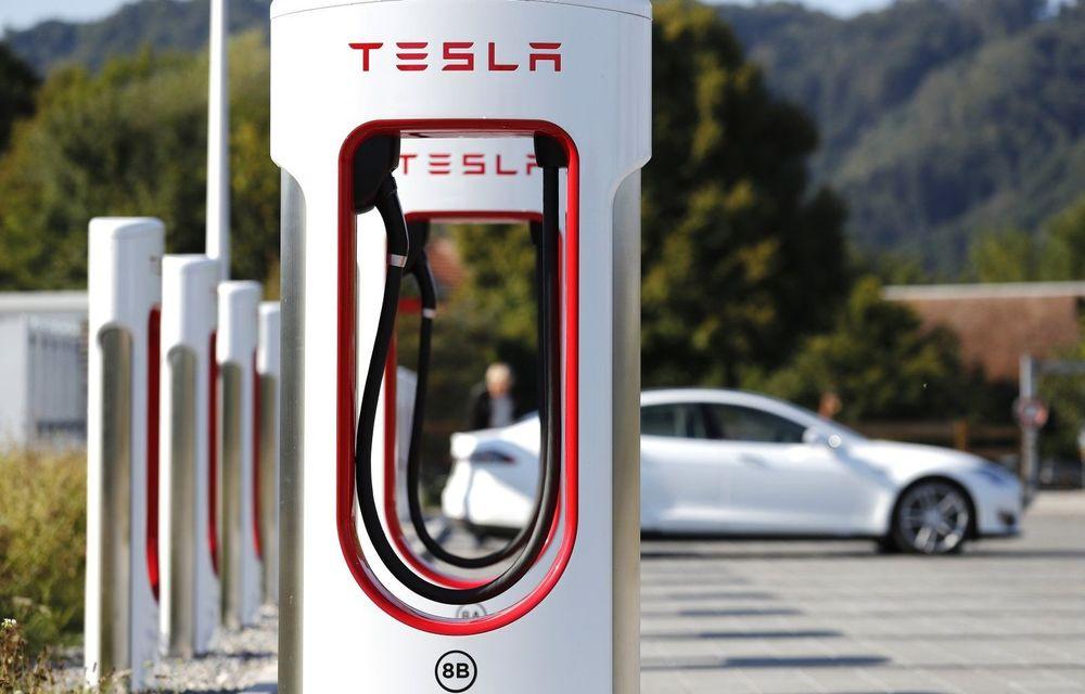 Rețeaua de stații Tesla Supercharger va fi accesibilă și altor mașini electrice din acest an - Poza 1