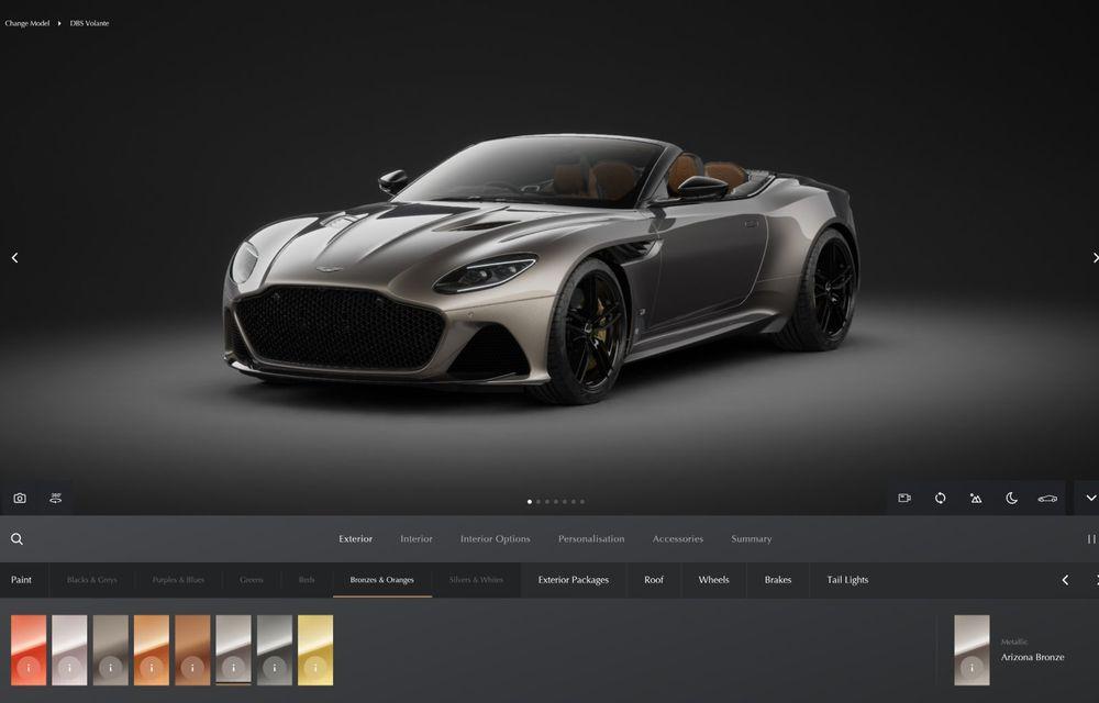 Modificări în gama Aston Martin: 535 CP pentru DB11 V8, Superleggera și AMR eliminate - Poza 6