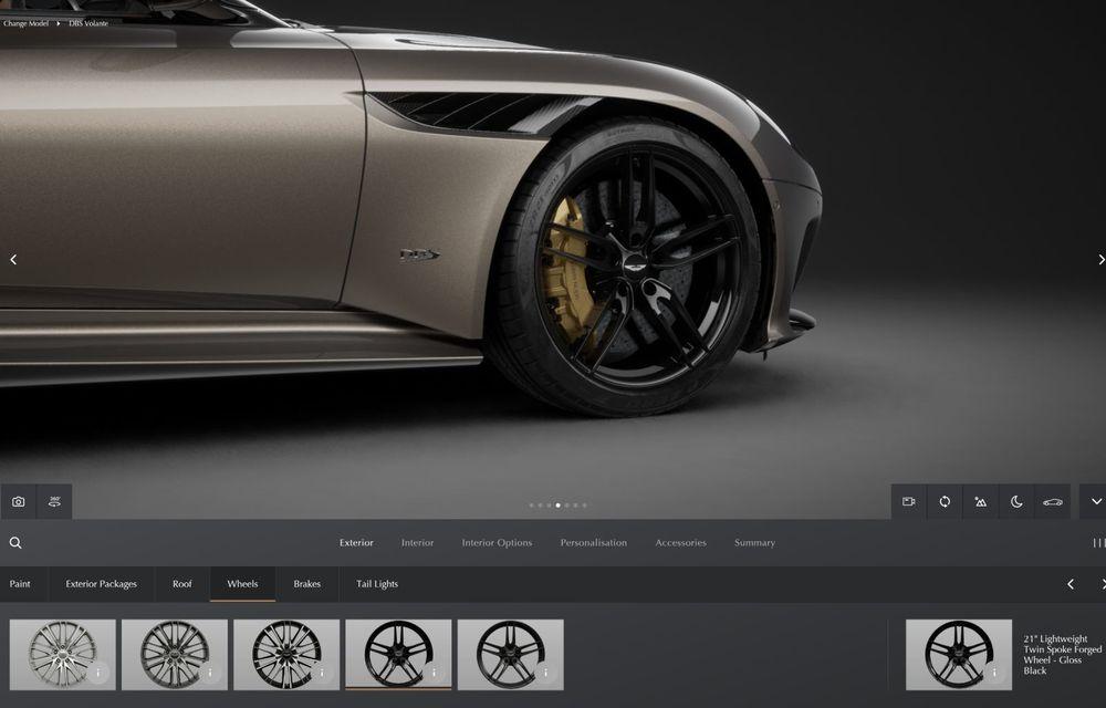 Modificări în gama Aston Martin: 535 CP pentru DB11 V8, Superleggera și AMR eliminate - Poza 9
