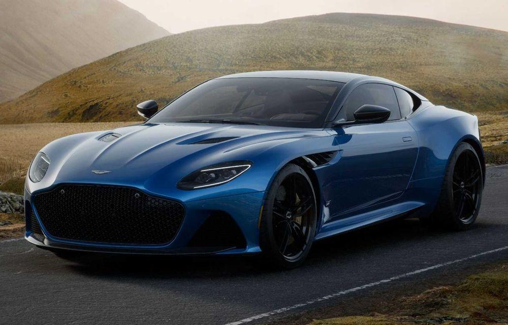 Modificări în gama Aston Martin: 535 CP pentru DB11 V8, Superleggera și AMR eliminate - Poza 1