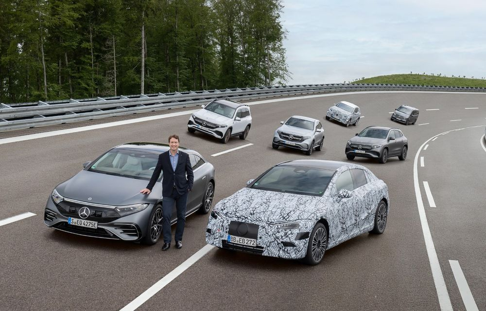Planuri Mercedes-Benz: 3 platforme electrice în 2025 și 8 uzine de baterii la nivel global - Poza 1
