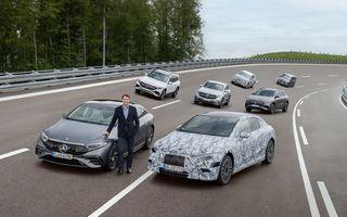 Planuri Mercedes-Benz: 3 platforme electrice în 2025 și 8 uzine de baterii la nivel global