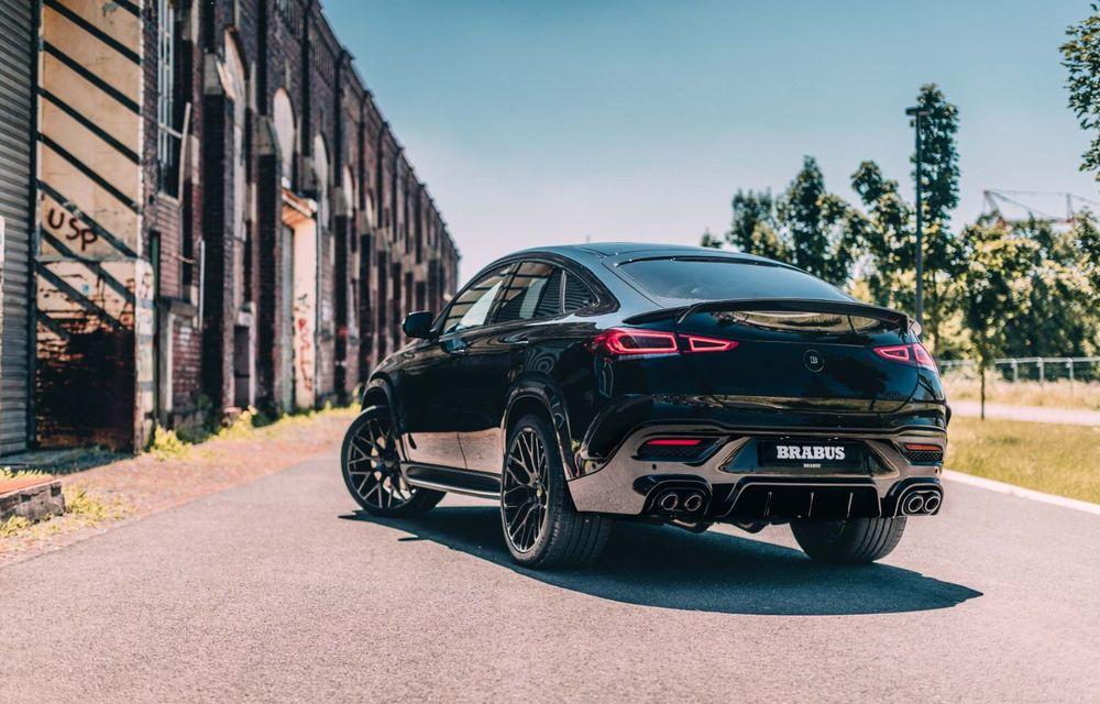 Mercedes-AMG GLE 63 S Coupe tunat de Brabus: 800 CP și 0-100 în 3.4 secunde - Poza 10
