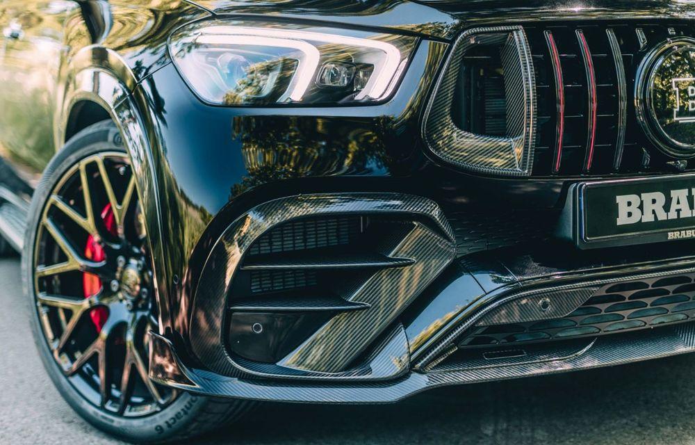 Mercedes-AMG GLE 63 S Coupe tunat de Brabus: 800 CP și 0-100 în 3.4 secunde - Poza 14