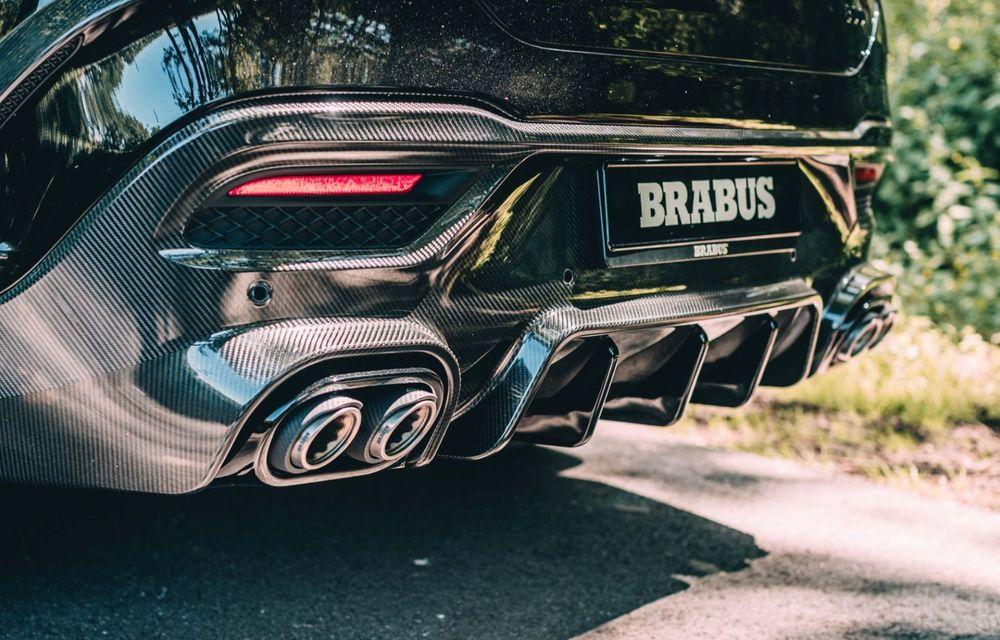 Mercedes-AMG GLE 63 S Coupe tunat de Brabus: 800 CP și 0-100 în 3.4 secunde - Poza 16