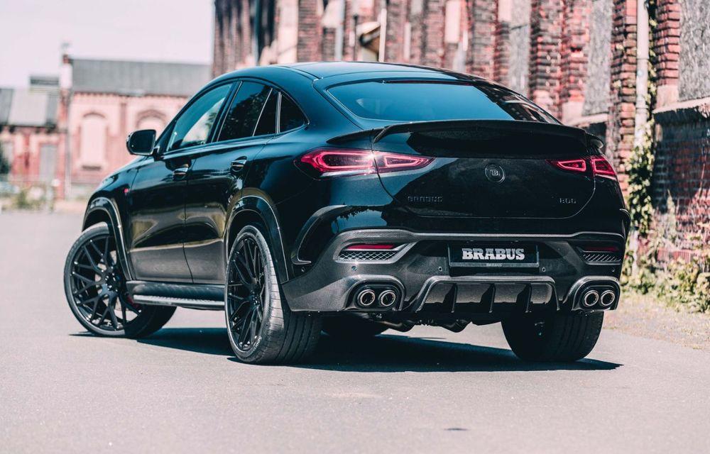 Mercedes-AMG GLE 63 S Coupe tunat de Brabus: 800 CP și 0-100 în 3.4 secunde - Poza 12