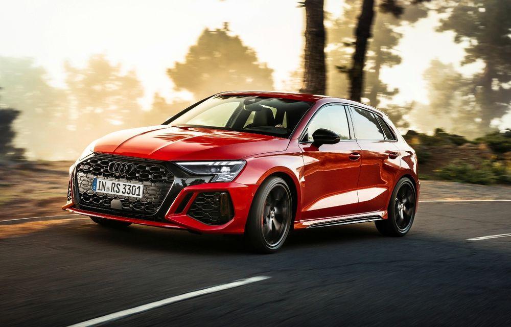 Prețuri Audi RS 3 în România: versiunea Sportback pornește de la 62.300 de euro - Poza 1