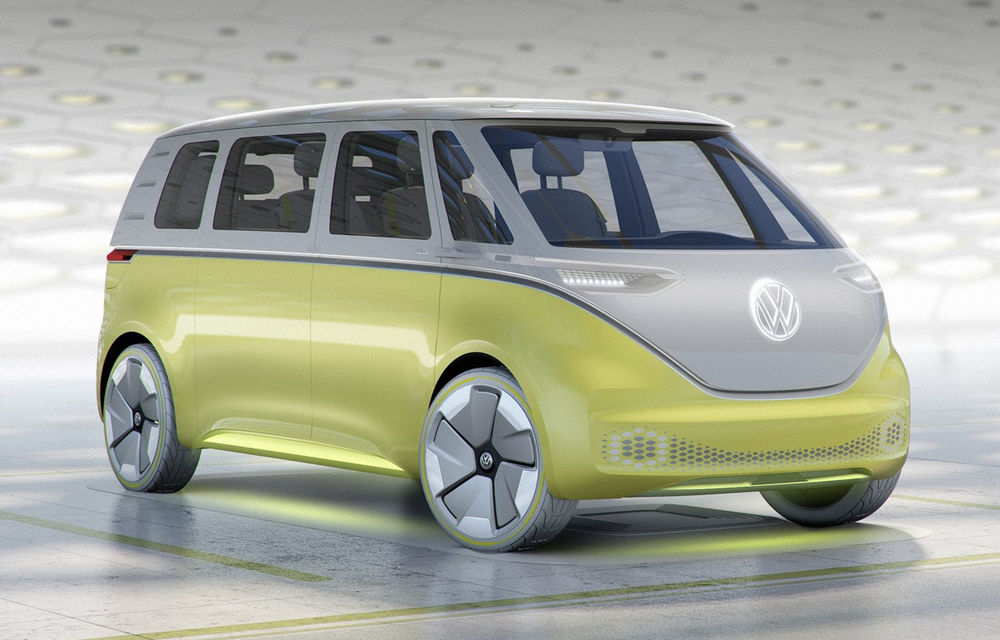 Volkswagen pregătește trei versiuni pentru electricul ID Buzz - Poza 1