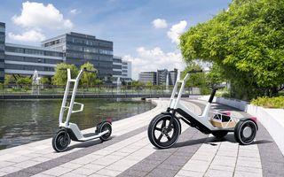 Concepte electrice BMW pentru oraș: autonomie de peste 20 de kilometri, reîncărcabile acasă