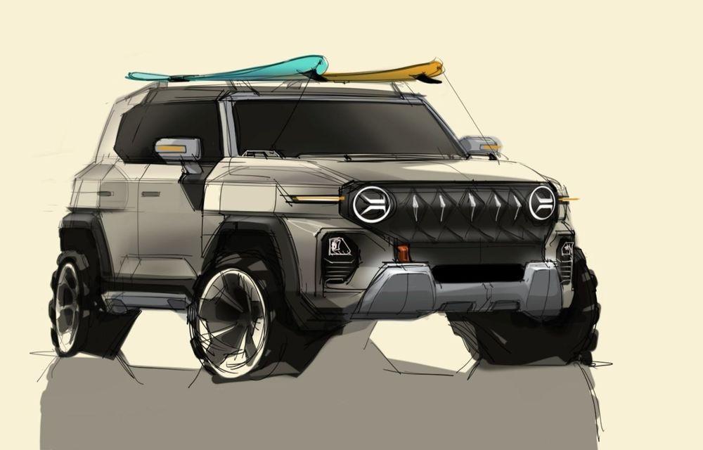 Primele schițe de design ale viitorului SUV SsangYong - Poza 1