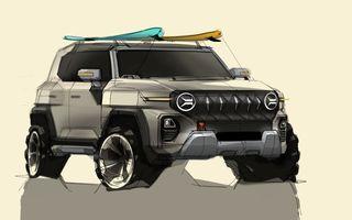 Primele schițe de design ale viitorului SUV SsangYong