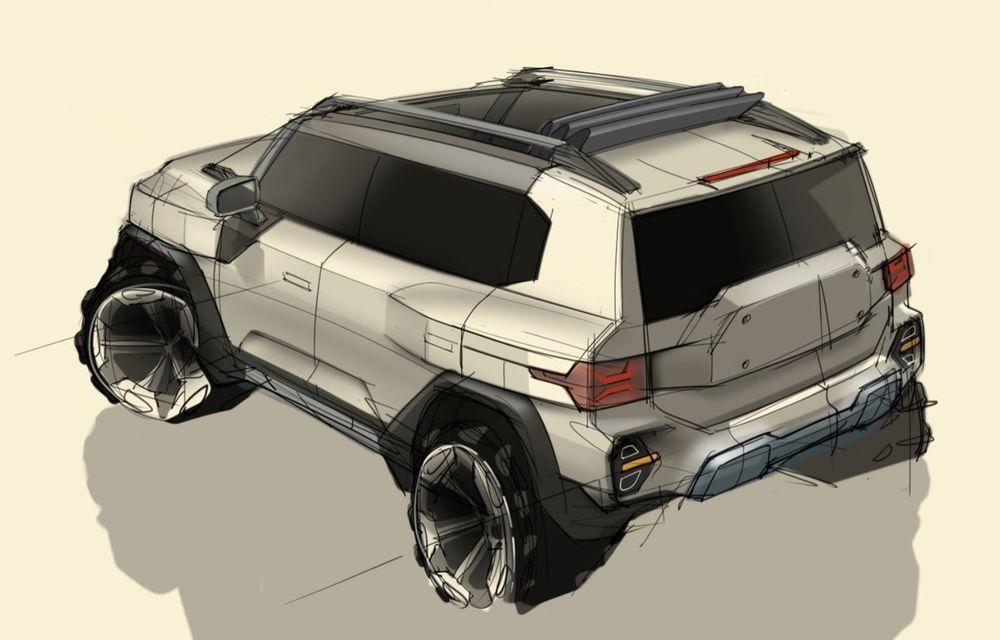 Primele schițe de design ale viitorului SUV SsangYong - Poza 2