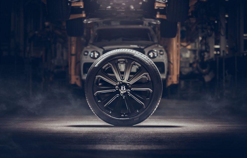 Bentley Bentayga primește cele mai mari jante din fibră de carbon montate vreodată pe o mașină de serie - Poza 5