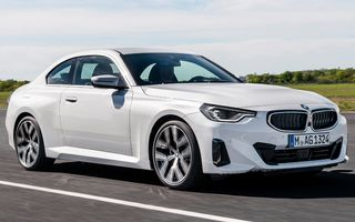 Prețuri BMW Seria 2 Coupe în România: start de la 37.400 de euro