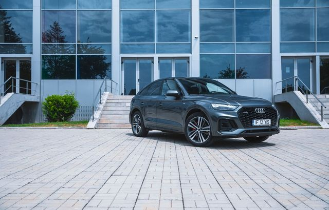 Test drive Audi Q5 Sportback
