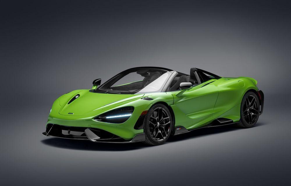 McLaren lansează noul 765LT Spider: V8 de 765 CP și 0-100 km/h în 2.8 secunde - Poza 1