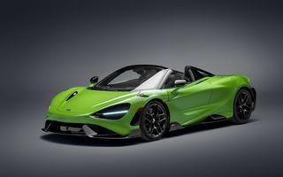 McLaren lansează noul 765LT Spider: V8 de 765 CP și 0-100 km/h în 2.8 secunde