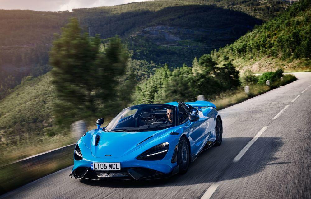 McLaren lansează noul 765LT Spider: V8 de 765 CP și 0-100 km/h în 2.8 secunde - Poza 2