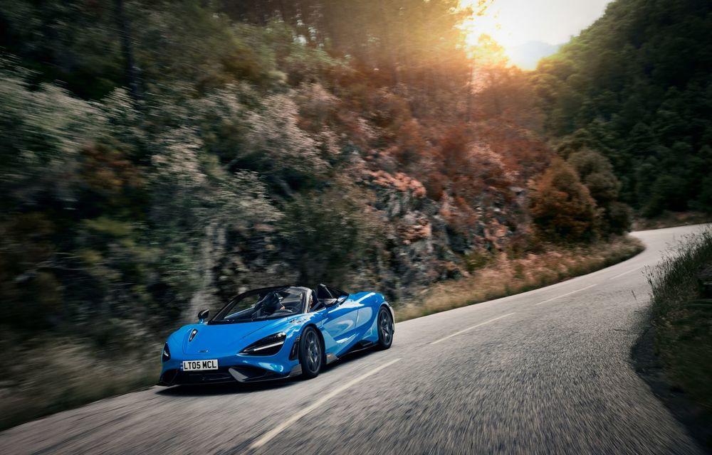 McLaren lansează noul 765LT Spider: V8 de 765 CP și 0-100 km/h în 2.8 secunde - Poza 3