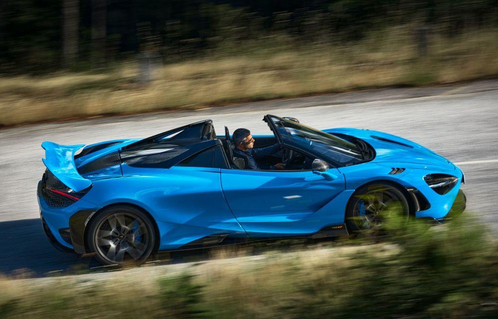 McLaren lansează noul 765LT Spider: V8 de 765 CP și 0-100 km/h în 2.8 secunde - Poza 5