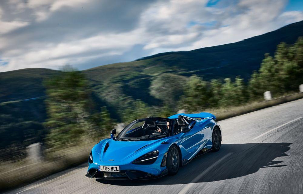 McLaren lansează noul 765LT Spider: V8 de 765 CP și 0-100 km/h în 2.8 secunde - Poza 6