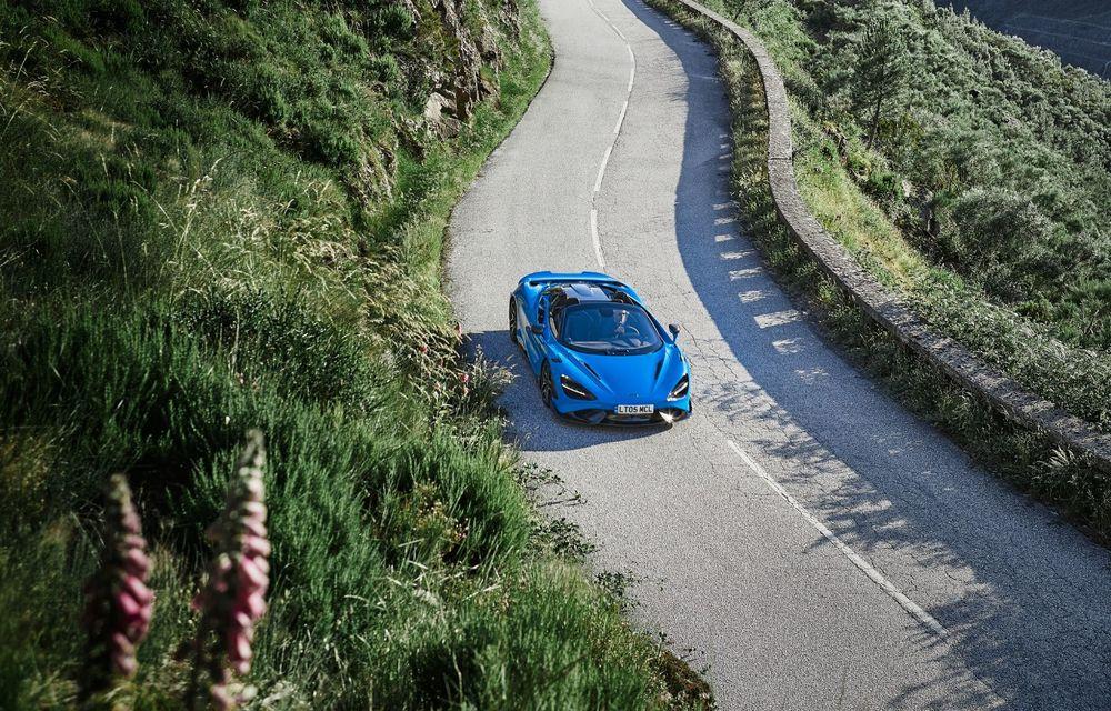 McLaren lansează noul 765LT Spider: V8 de 765 CP și 0-100 km/h în 2.8 secunde - Poza 8