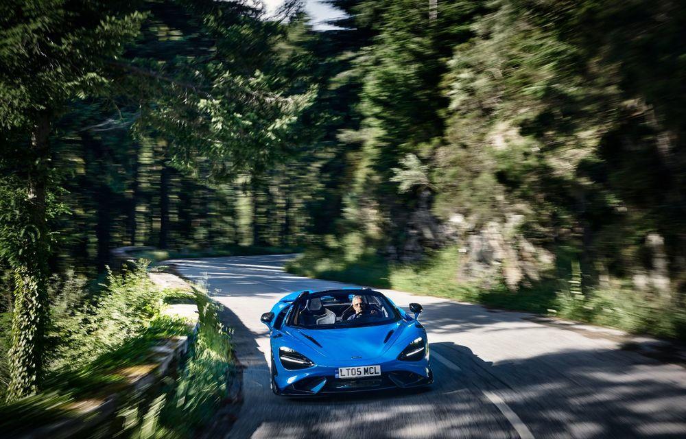 McLaren lansează noul 765LT Spider: V8 de 765 CP și 0-100 km/h în 2.8 secunde - Poza 9