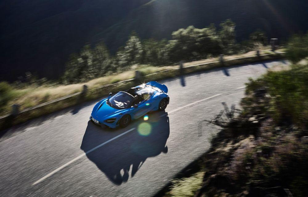 McLaren lansează noul 765LT Spider: V8 de 765 CP și 0-100 km/h în 2.8 secunde - Poza 10