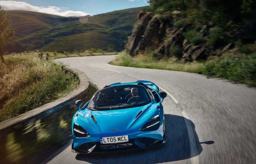 McLaren lansează noul 765LT Spider: V8 de 765 CP și 0-100 km/h în 2.8 secunde - Poza 12