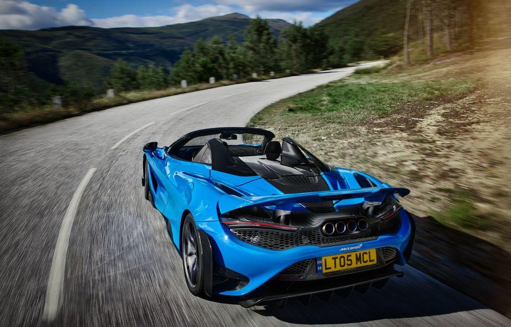 McLaren lansează noul 765LT Spider: V8 de 765 CP și 0-100 km/h în 2.8 secunde - Poza 13