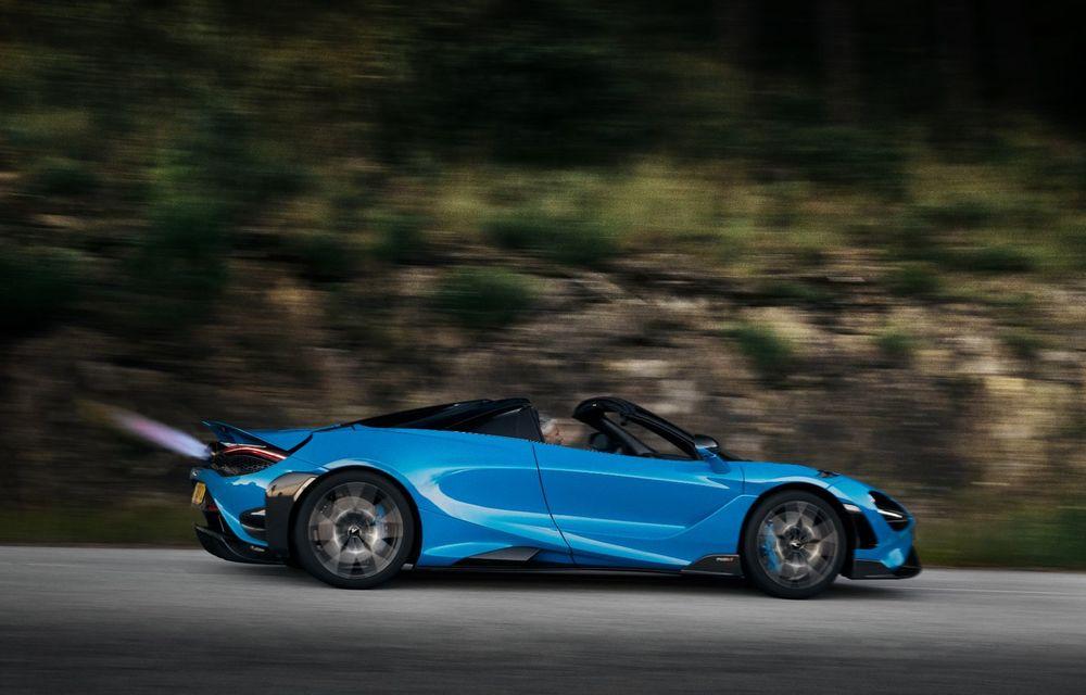 McLaren lansează noul 765LT Spider: V8 de 765 CP și 0-100 km/h în 2.8 secunde - Poza 14