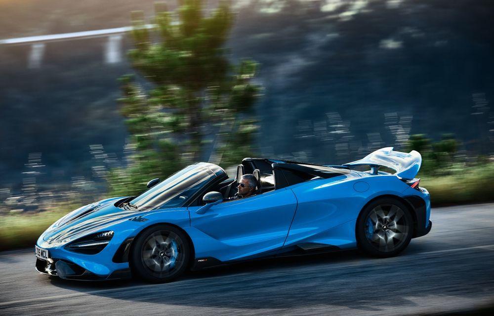 McLaren lansează noul 765LT Spider: V8 de 765 CP și 0-100 km/h în 2.8 secunde - Poza 15
