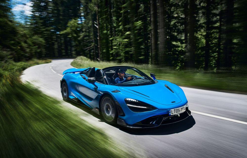 McLaren lansează noul 765LT Spider: V8 de 765 CP și 0-100 km/h în 2.8 secunde - Poza 16