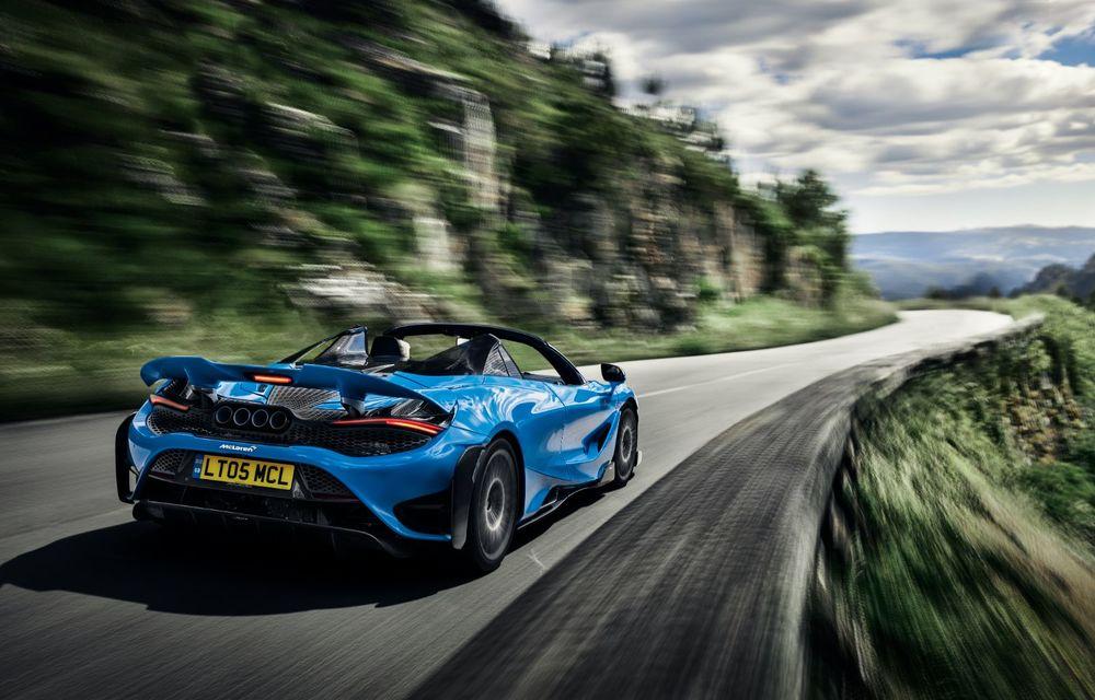 McLaren lansează noul 765LT Spider: V8 de 765 CP și 0-100 km/h în 2.8 secunde - Poza 17
