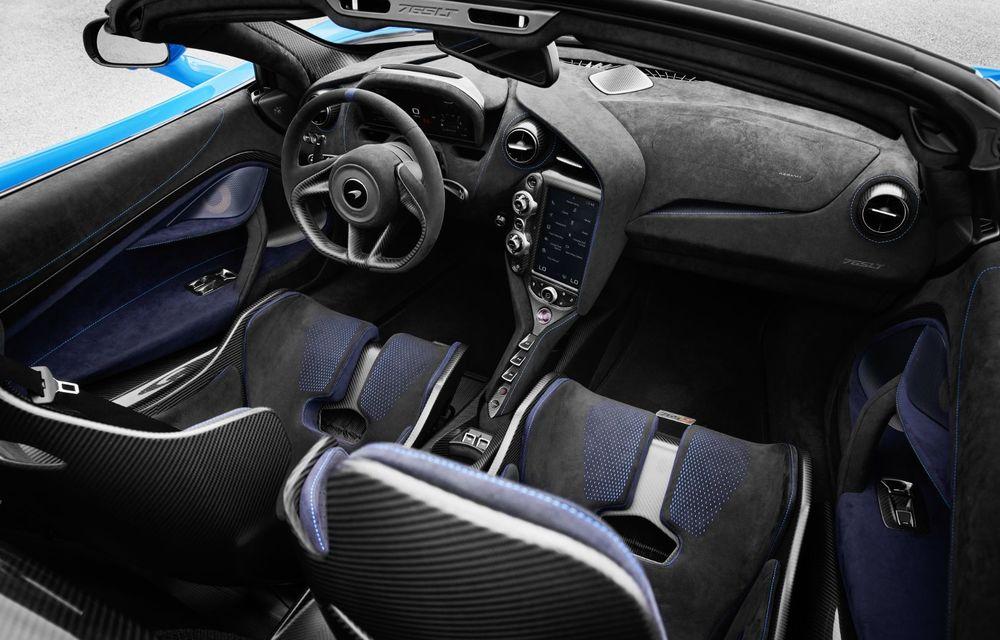 McLaren lansează noul 765LT Spider: V8 de 765 CP și 0-100 km/h în 2.8 secunde - Poza 24