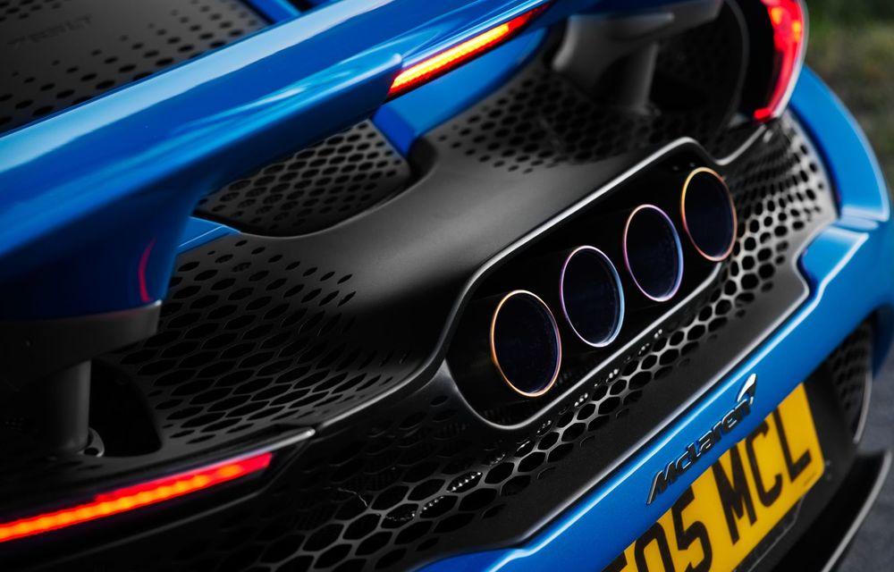McLaren lansează noul 765LT Spider: V8 de 765 CP și 0-100 km/h în 2.8 secunde - Poza 41