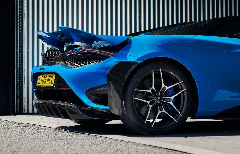 McLaren lansează noul 765LT Spider: V8 de 765 CP și 0-100 km/h în 2.8 secunde - Poza 42