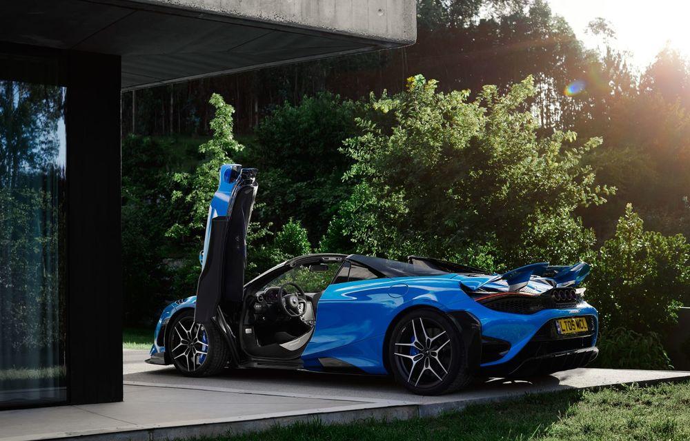 McLaren lansează noul 765LT Spider: V8 de 765 CP și 0-100 km/h în 2.8 secunde - Poza 19