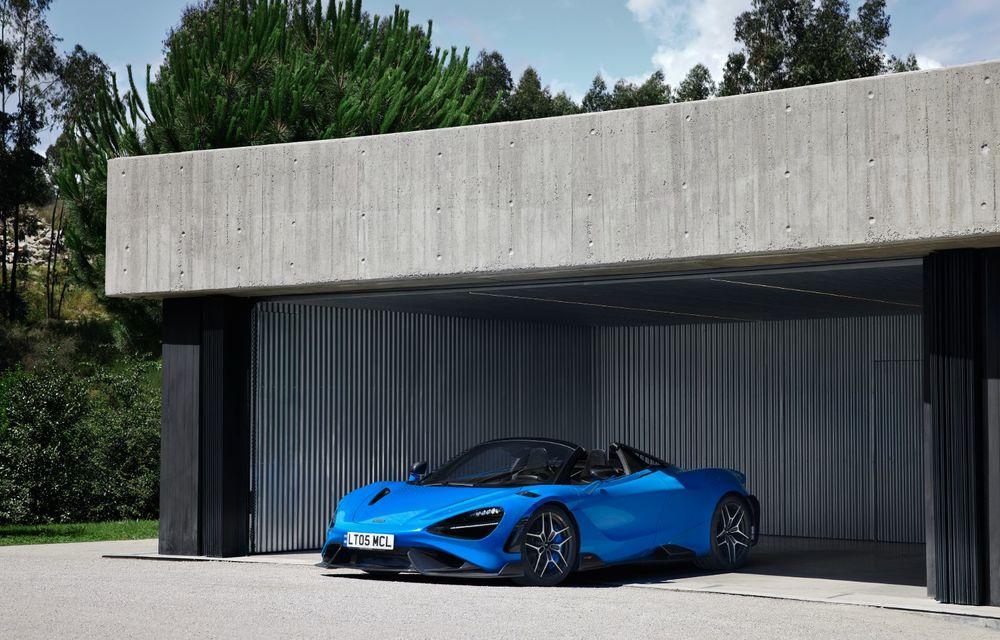 McLaren lansează noul 765LT Spider: V8 de 765 CP și 0-100 km/h în 2.8 secunde - Poza 23