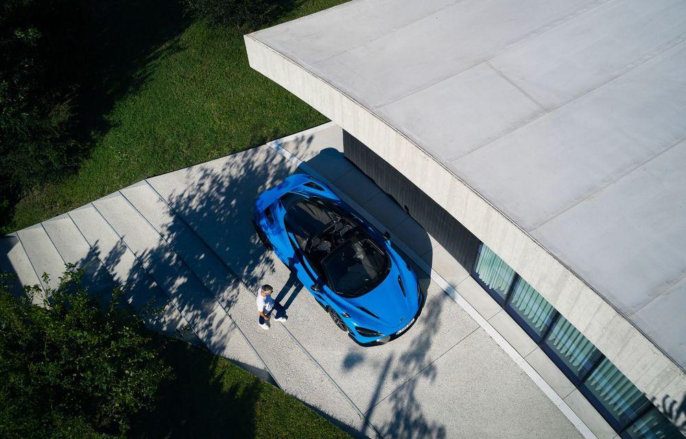 McLaren lansează noul 765LT Spider: V8 de 765 CP și 0-100 km/h în 2.8 secunde - Poza 21