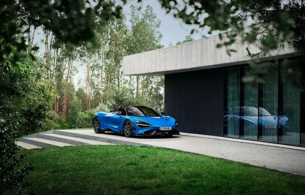McLaren lansează noul 765LT Spider: V8 de 765 CP și 0-100 km/h în 2.8 secunde - Poza 20