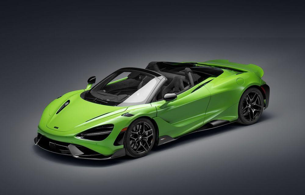 McLaren lansează noul 765LT Spider: V8 de 765 CP și 0-100 km/h în 2.8 secunde - Poza 29