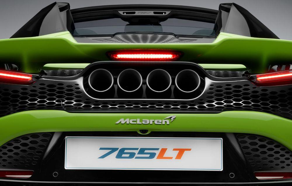 McLaren lansează noul 765LT Spider: V8 de 765 CP și 0-100 km/h în 2.8 secunde - Poza 37