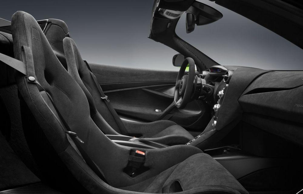 McLaren lansează noul 765LT Spider: V8 de 765 CP și 0-100 km/h în 2.8 secunde - Poza 26