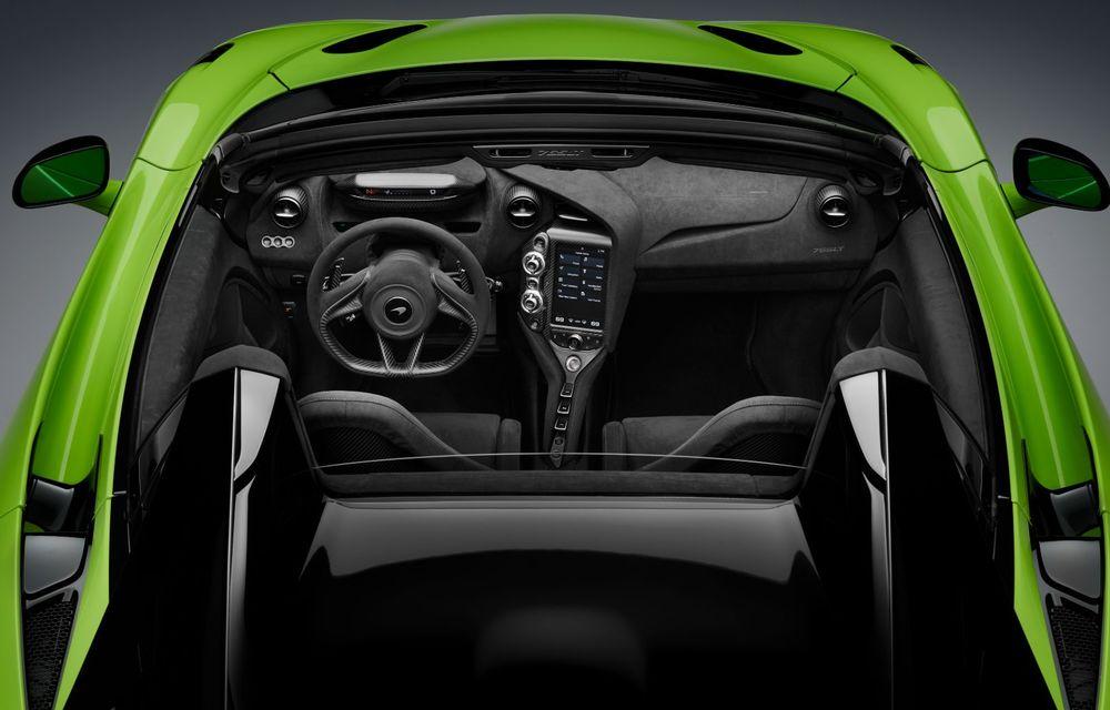 McLaren lansează noul 765LT Spider: V8 de 765 CP și 0-100 km/h în 2.8 secunde - Poza 38