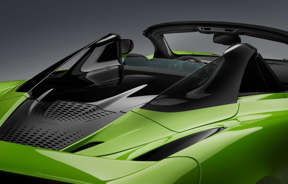 McLaren lansează noul 765LT Spider: V8 de 765 CP și 0-100 km/h în 2.8 secunde - Poza 39